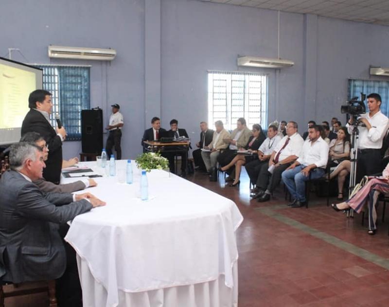 Reuniones Preparatorias Regionales de los Comités de Integración Paraguay - Argentina, en la Gobernación de Ñeembucú