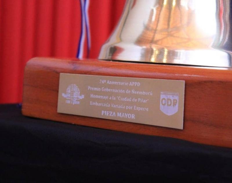 Lanzamiento del Torneo de Pesca 24 aniversario del Club APPD, homenaje a la ciudad de Pilar.