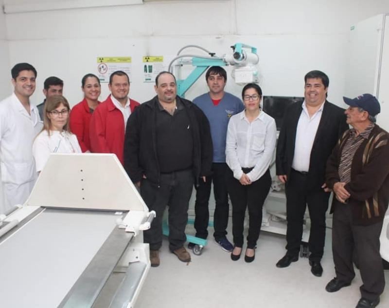 Equipo de Rayos X Portátil para el Hospital Regional de Pilar