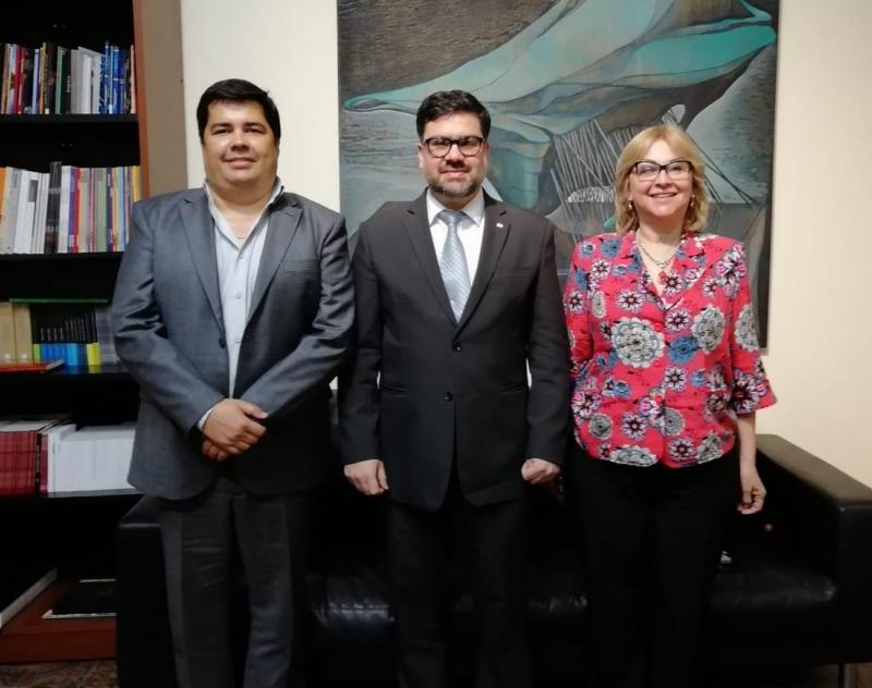 Gobernación de Ñeembucú y Secretaría Nacional de Cultura, trabajarán por la revitalización de sitios históricos y el fortalecimiento del Cabildo de Pilar