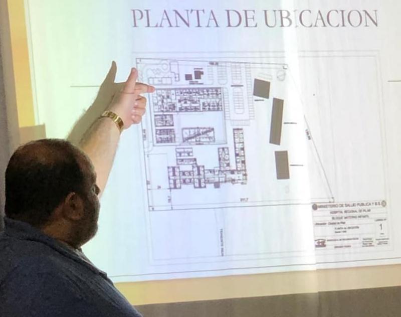 Presentación del Proyecto para construcción del Bloque Materno Infantil en el Hospital Regional de Pilar