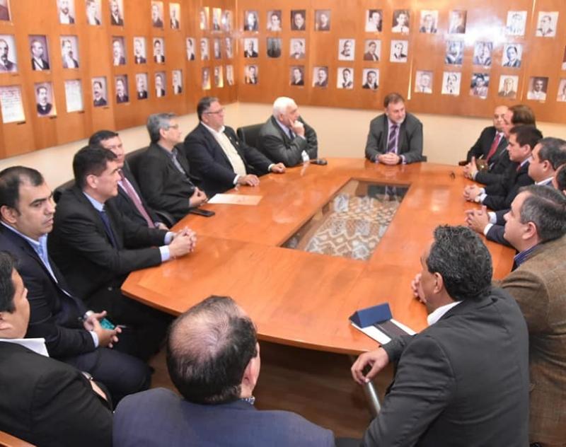 Reunión con el Ministro de Hacienda
