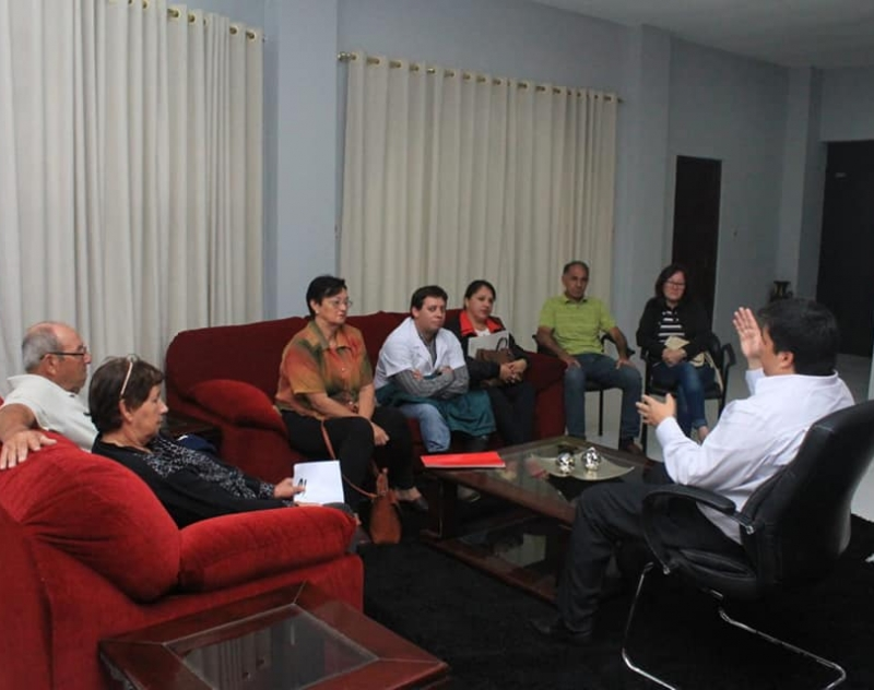 Consejo de Desarrollo Comunitario de Yatayty se reunió con el Gobernador