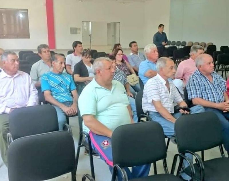Secretario Departamental de Obras Públicas de la Gobernación de Ñeembucú Lic. Christian Escobar, participó del Conversatorio sobre el tema Ruta de Circunvalación