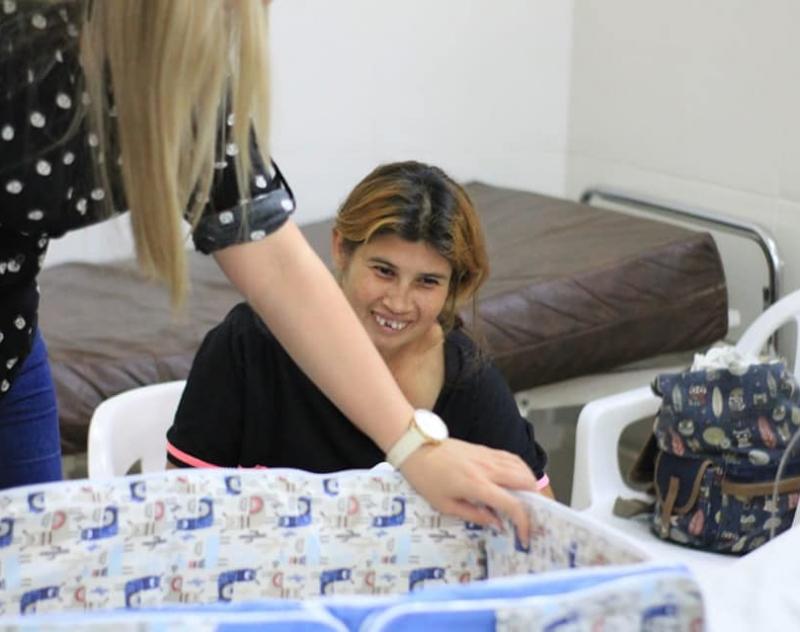 Paciente de 1 mes de vida, fue incorporado al Proyecto Mitã del Programa Departamental de Acción Social