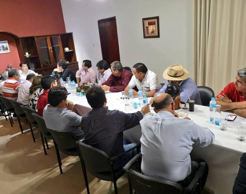 Gobernación de Ñeembucú trabajará con el Consejo de Intendentes