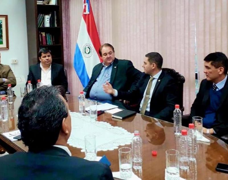 Reunión de trabajo con el Presidente de la Cámara de Diputados