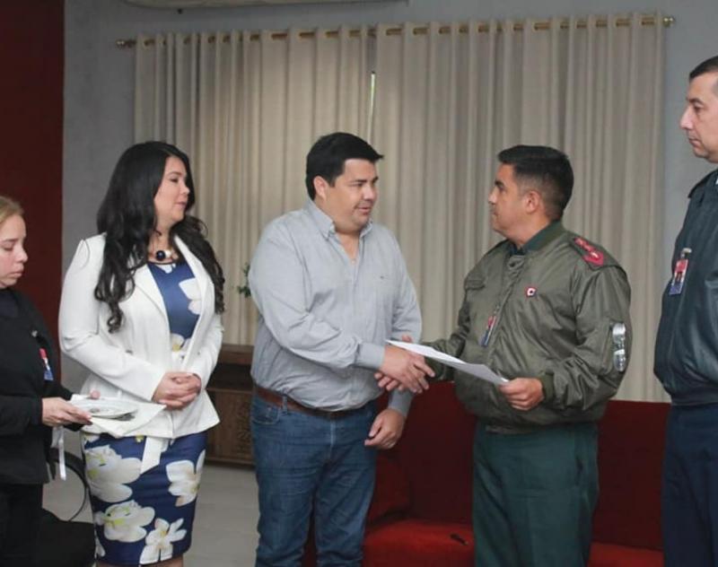 Gobernador de Ñeembucú recibió a cursantes del Instituto de Altos Estudios Estratégicos