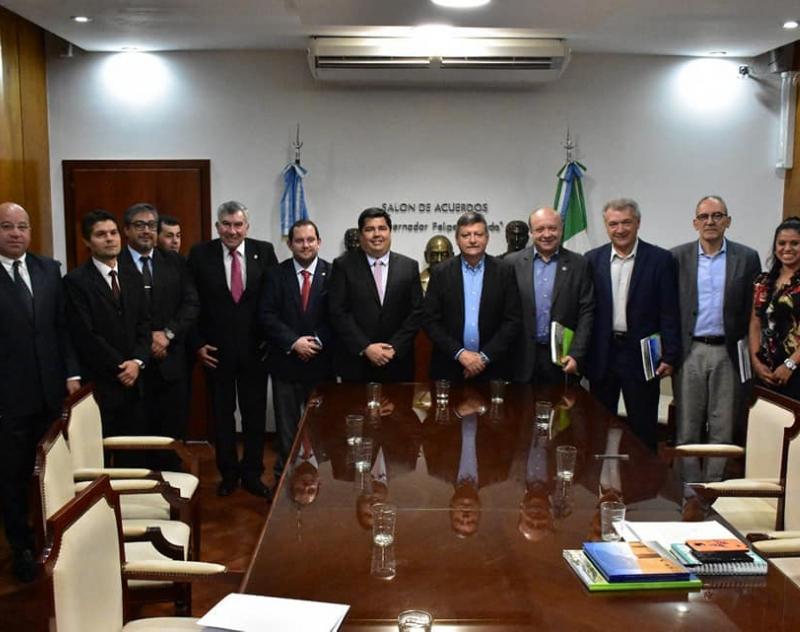 Fructífera reunión de trabajo con el Gobernador de la Provincia de Chaco, Argentina