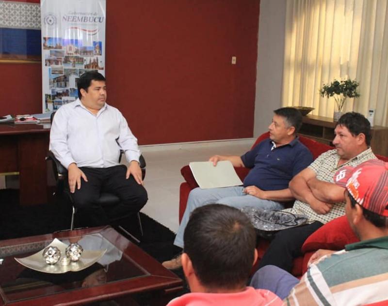 Comisión El Progreso del barrio San Vicente de Pilar, será beneficiada con alumbrado público