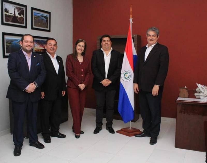 Reunión con representantes del Consulado de la República del Paraguay, en Formosa, Argentina
