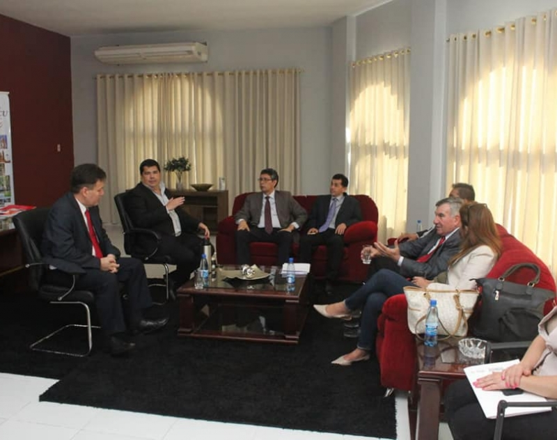 Reunión con el Director de Política Consular del Ministerio de Relaciones Exteriores, Gustavo Gómez