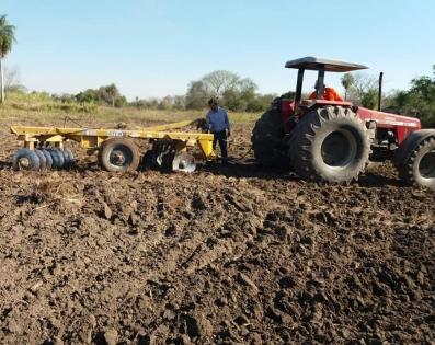 Inicio de trabajos de preparación de suelo en ...