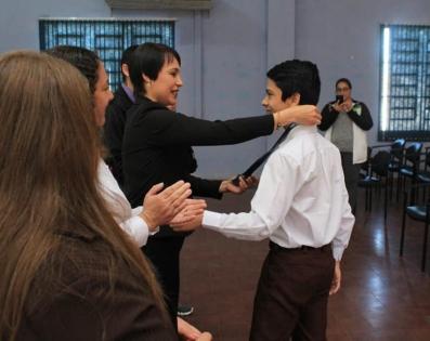 Ceremonia de premiación de Campeones Departamentales de Ñeembucú, de la 30ª Olimpiada Nacional Juvenil de Matemáticas (OMAPA)