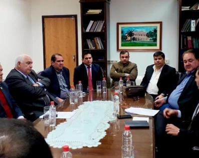 Reunión de trabajo con el Presidente de la ...