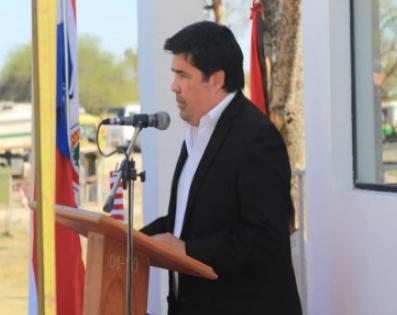 Inauguración del Puesto de Control Policíal en Villa ...
