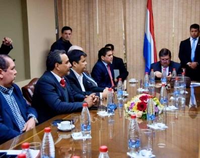 Mesa de trabajo de Gobernadores del Paraguay