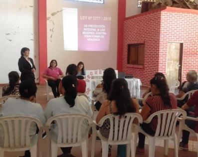 Presentacion de la Secretaria de la Mujer en ...